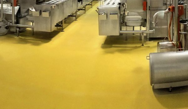 Anti-Slip and HACCP Approved Epoxy Floor Coating Solutions for Food and Beverage Processing Areas