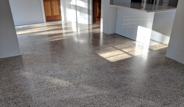 HORIZON EPOXY FLOORS SuperClear System for Concrete Floors | Grind and Seal System