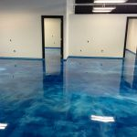 Resistance epoxy floor