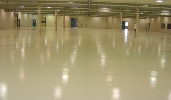 Mechanical Workshop Epoxy Floors in westlake