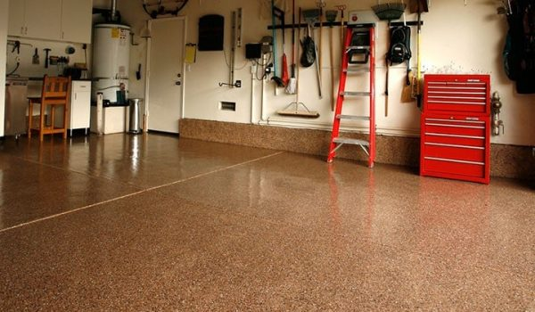 Garage Epoxy Floor in Ashgrove