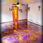 Send off Your Dirty Garage with Epoxy Flooring