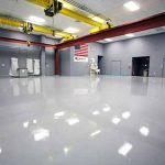 Mechanical Workshop Epoxy Floors in Gordon Park