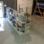 Mechanical Workshop Epoxy Floors in Forest Lake