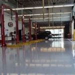 Mechanical Workshop Epoxy Floors IN Chapel Hill