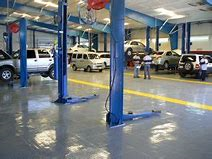 Mechanical Workshop Epoxy Floors in Nudgee Beach