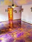 Solid or Single Colour Epoxy Painting in Camp Hill